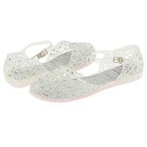 Stuart Weitzman Swarovski Crystal Sandals Sz 10